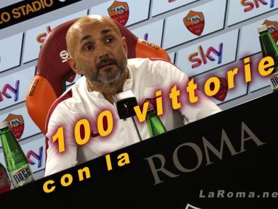 Contro il Crotone Spalletti fa 100 vittorie con la Roma in campionato